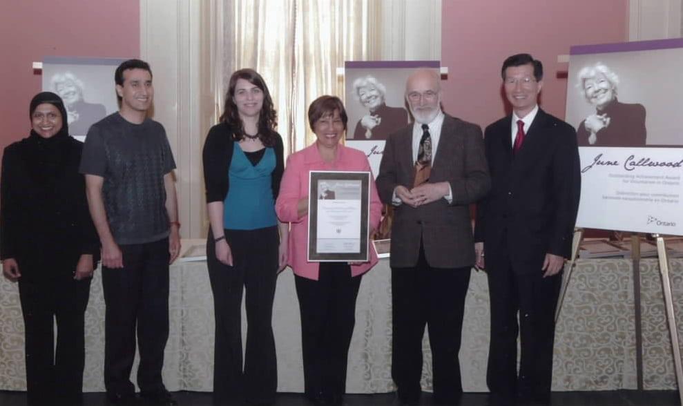 June Callwood Award 2009