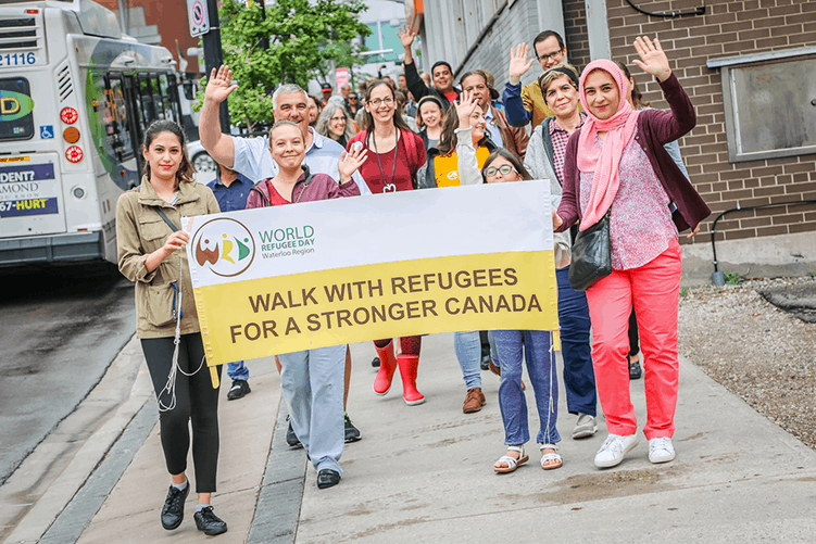 World-Refugee-day-waterloo-walk